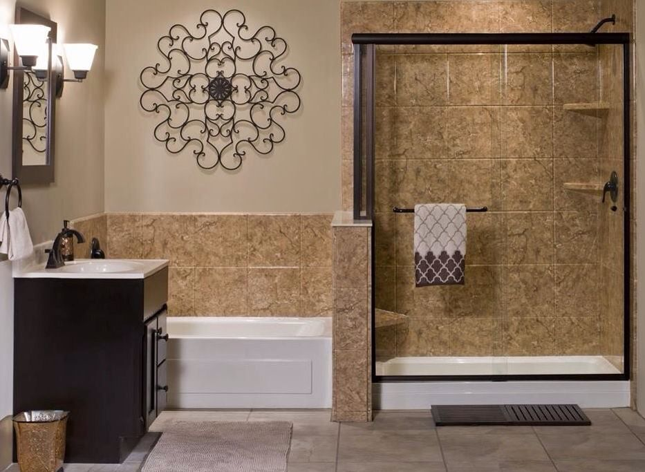 Rebath Venetian Stone 12x12 Bathroom Design Styles Complete