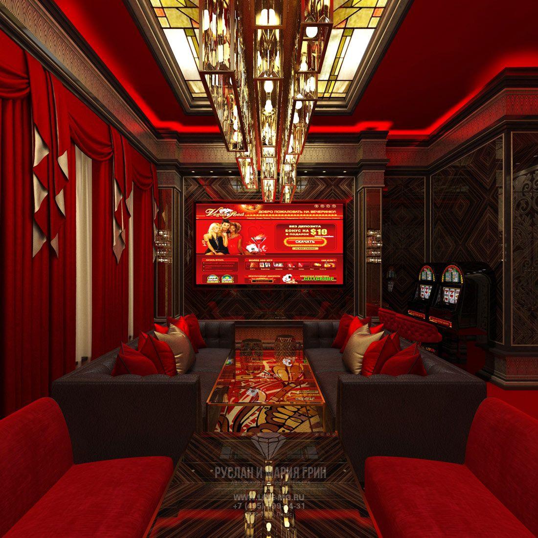 Дизайн и интерьер казино европейские игровые автоматы играть