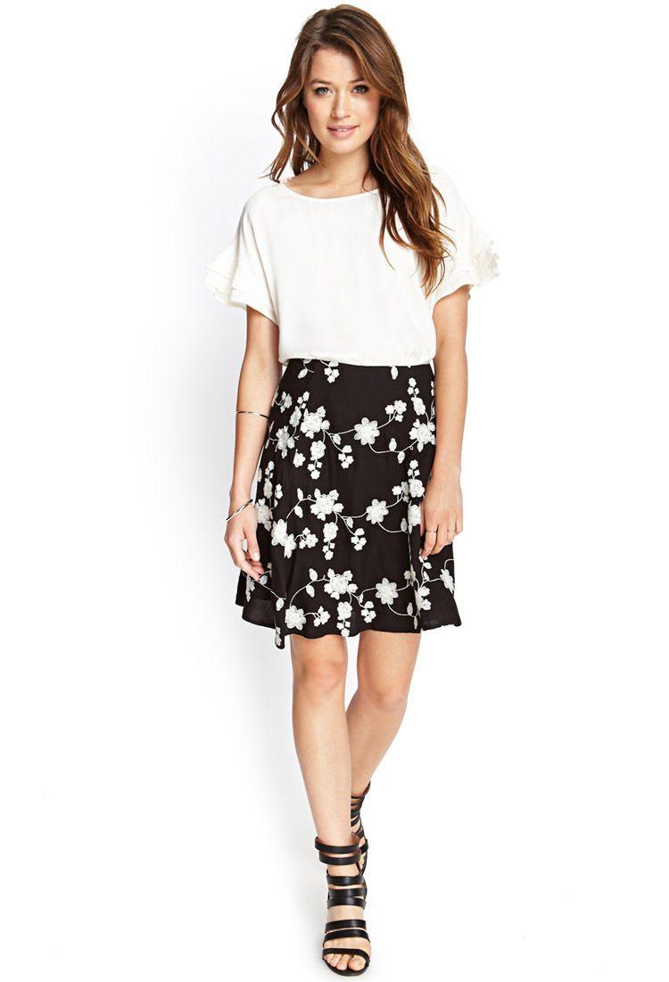 d5ff2915ac Pin by Emefa Kotobridja on nice | Fashion, Skirts, Trendy outfits