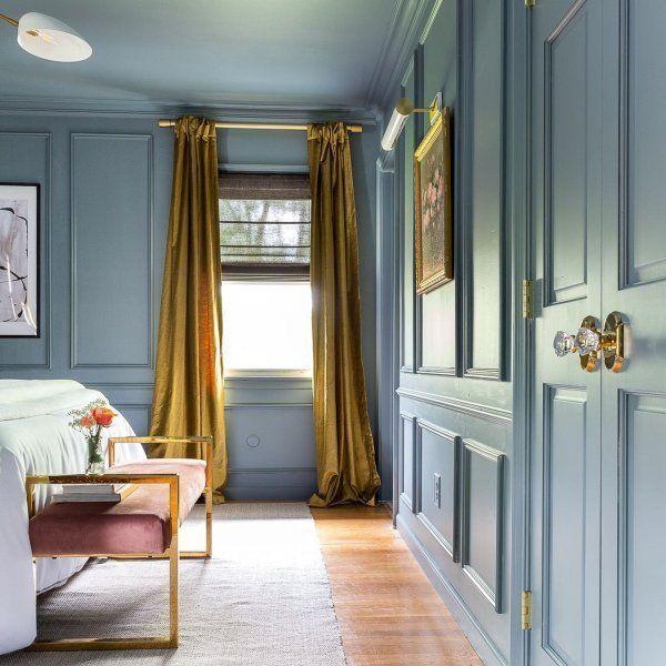 Minimalistkitchen Interior Design: Baumwollglanz Samtvorhang