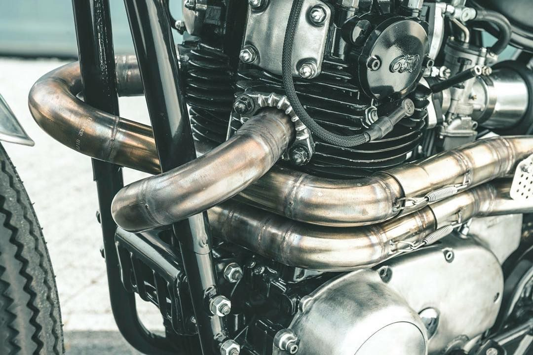 Nozem xs650 exhaust\
