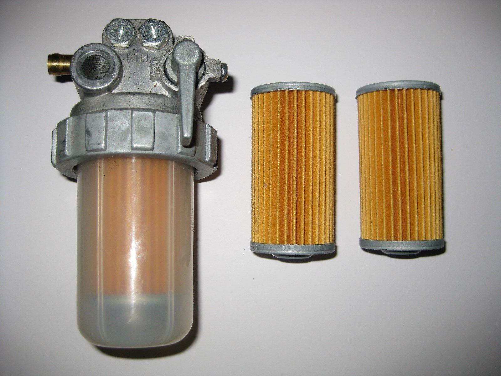 details about kubota model fuel filter valve 2 spare elements Kubota Diesel Fuel Filter