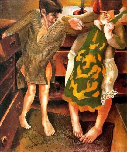 1+Stanley+Spencer,+(English+painter,+1891-1959)choosing-a-petticoat-1936_jpg!Blog.jpg (418×500)