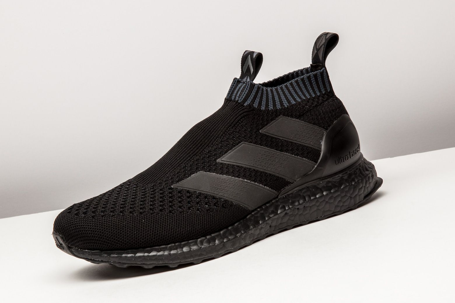 buy online 6c939 c5de9 This murdered-out triple black version of the adidas ACE 16+ Purecontrol  Ultra Boost