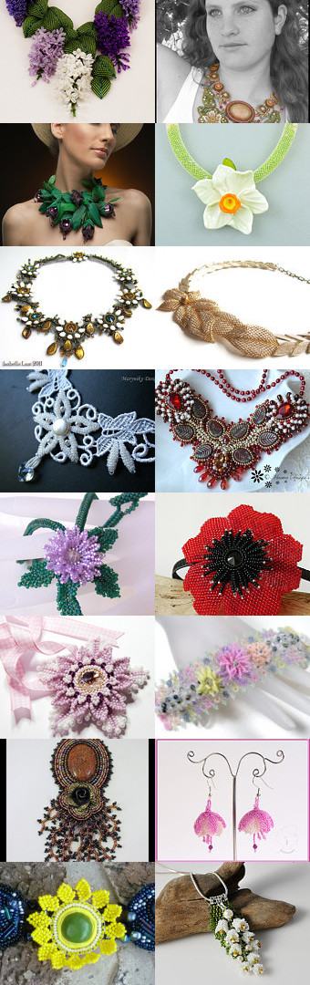#Flowers from #beads