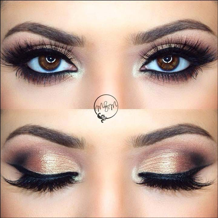 10 Bridal Eye Makeup Ideas You Just Can't Miss #shortbridalhairstyles
