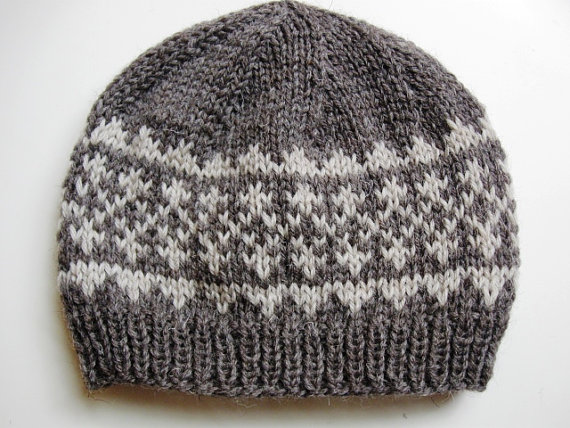 Pdf Knitting Pattern For Hat Simple Fair Isle Pattern Hat 1 Two