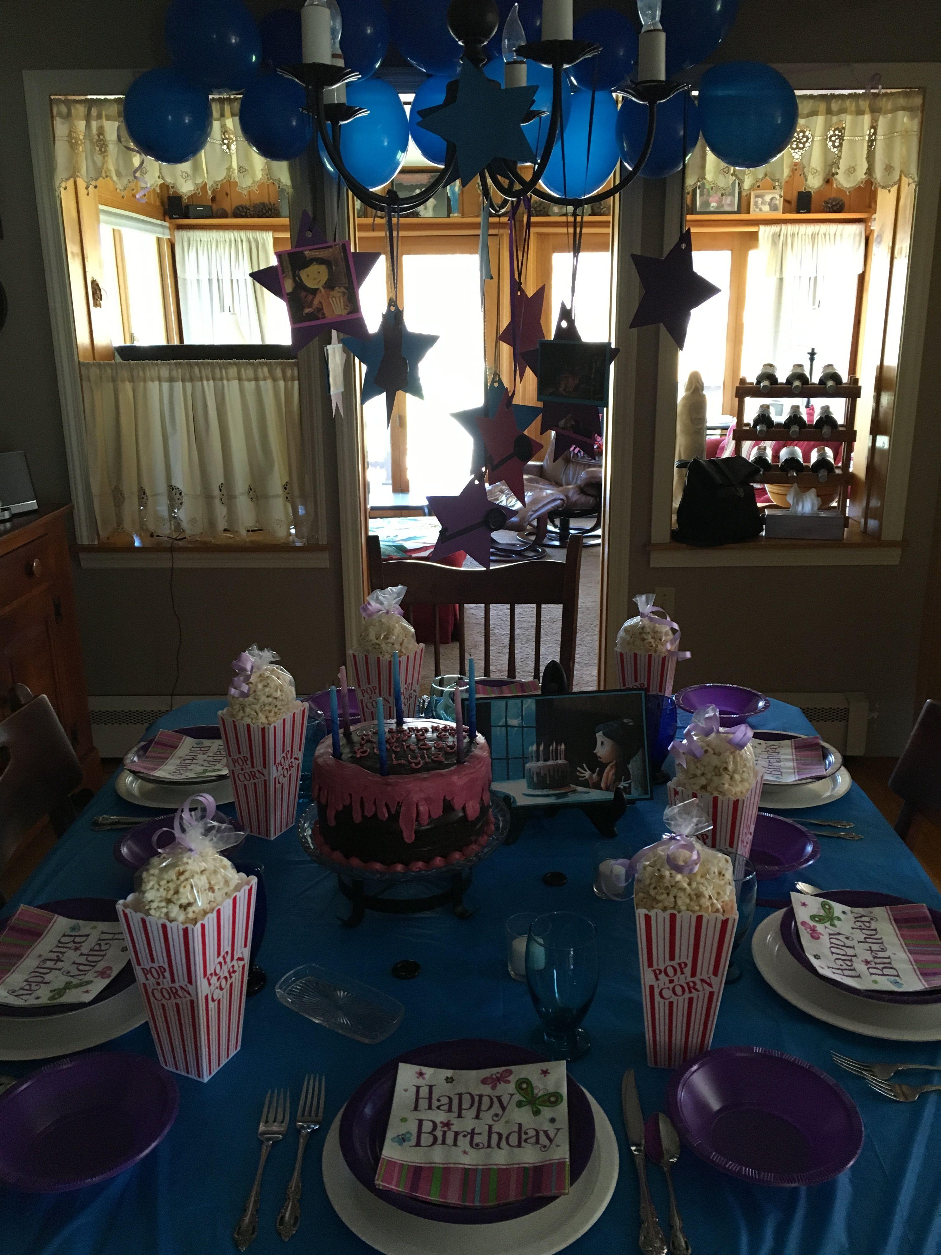 Cheyenne S 3rd Birthday Coraline Birthday Party Crafts Birthday
