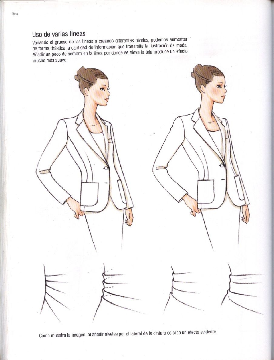 Ilustracion De Moda Contemporanea Naoki Watanabe Pdf Fashion Sketches Fashion Illustration Body Sketches