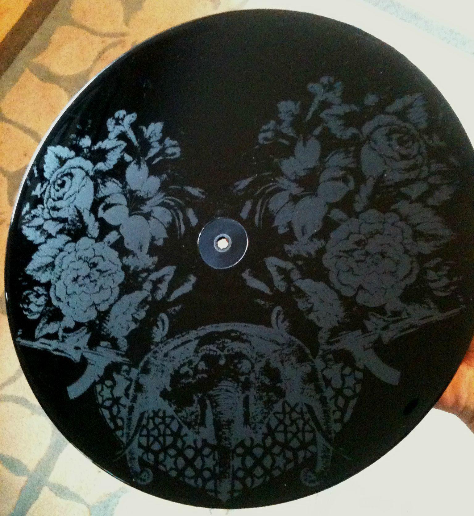 The Most Beautiful Etching I Have Seen Deer Tick War Elephant War Elephant Deer Ticks Vinyl