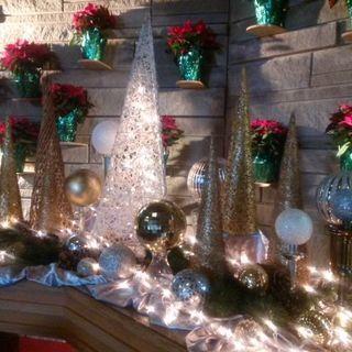 Church altar Christmas