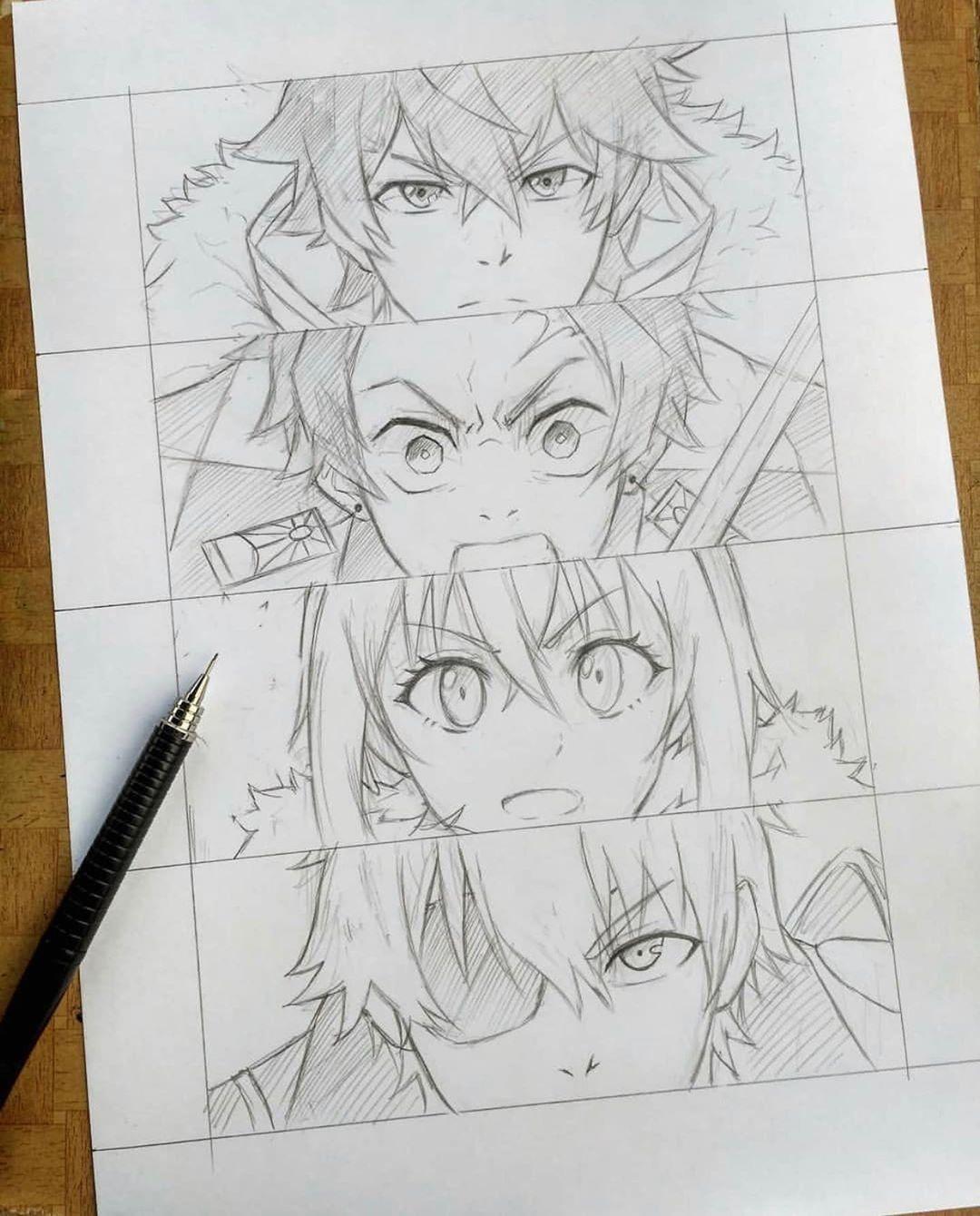 Como Desenhar Animes Em 2020 Como Desenhar Anime Esboco De Anime Otaku Anime