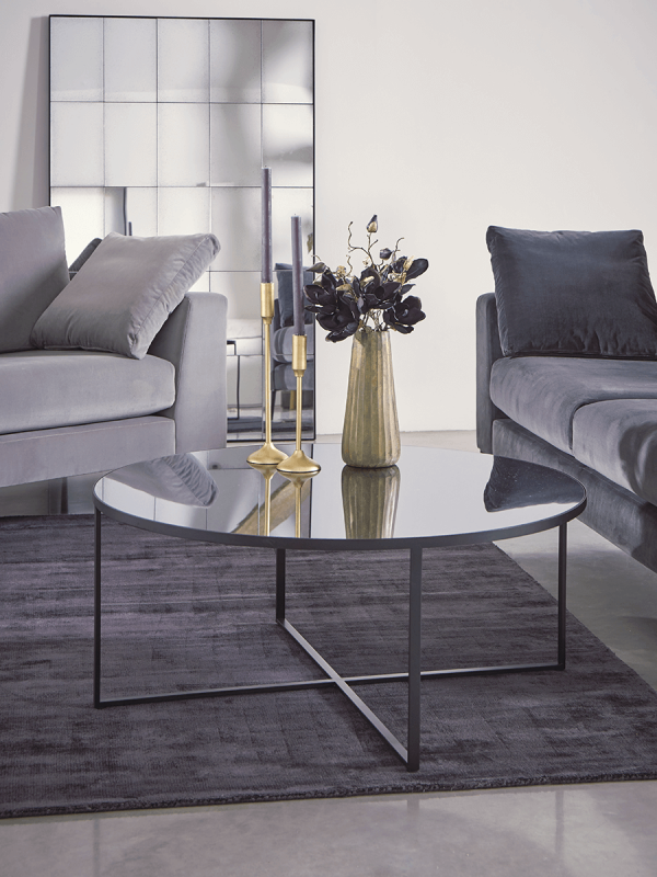 Round Mirrored Coffee Table Mirrored Coffee Tables Round Coffee