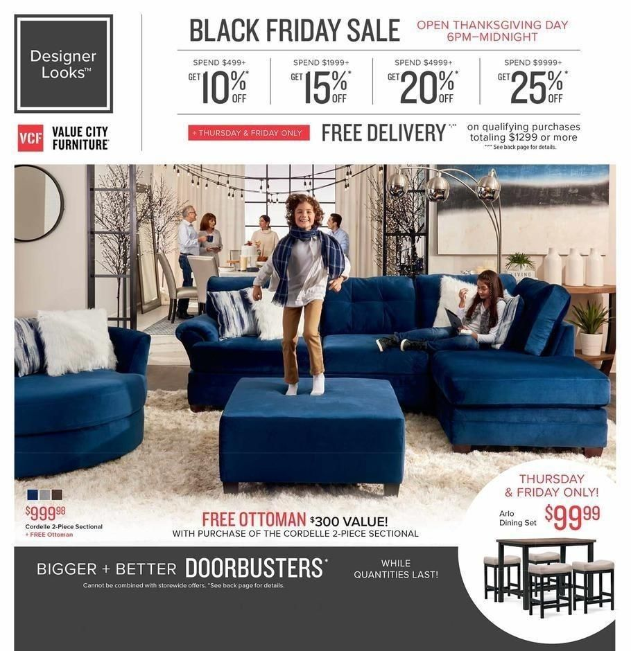 Value City Furniture 2019 Black Friday