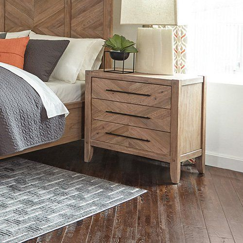Scott Living Auburn 3 Drawer Nightstand From Hayneedle