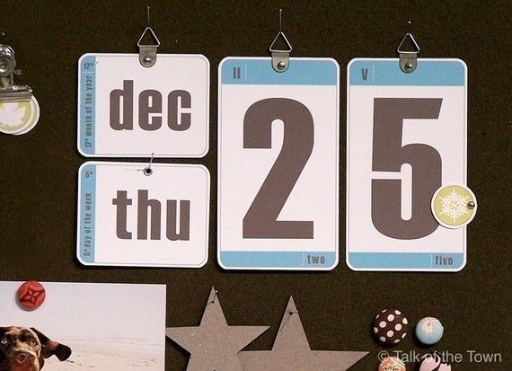 DIY Perpetual Calendar Bulletin Board Calendar by talkottown - how to make a perpetual calendar