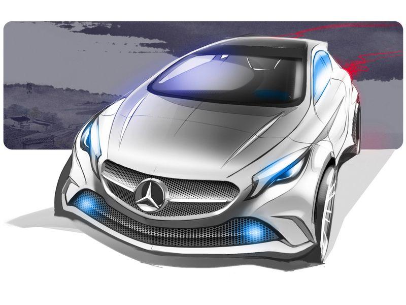 Mercedes Benz Will Present A Drone Car In