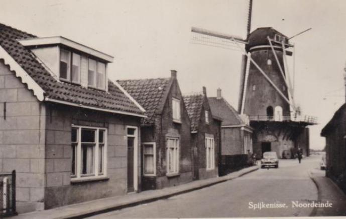 Spijkenisse Noordeinde 1957.