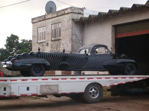 Vintage Argentinian Funeral Cars Motor Cycles Cars Carroza