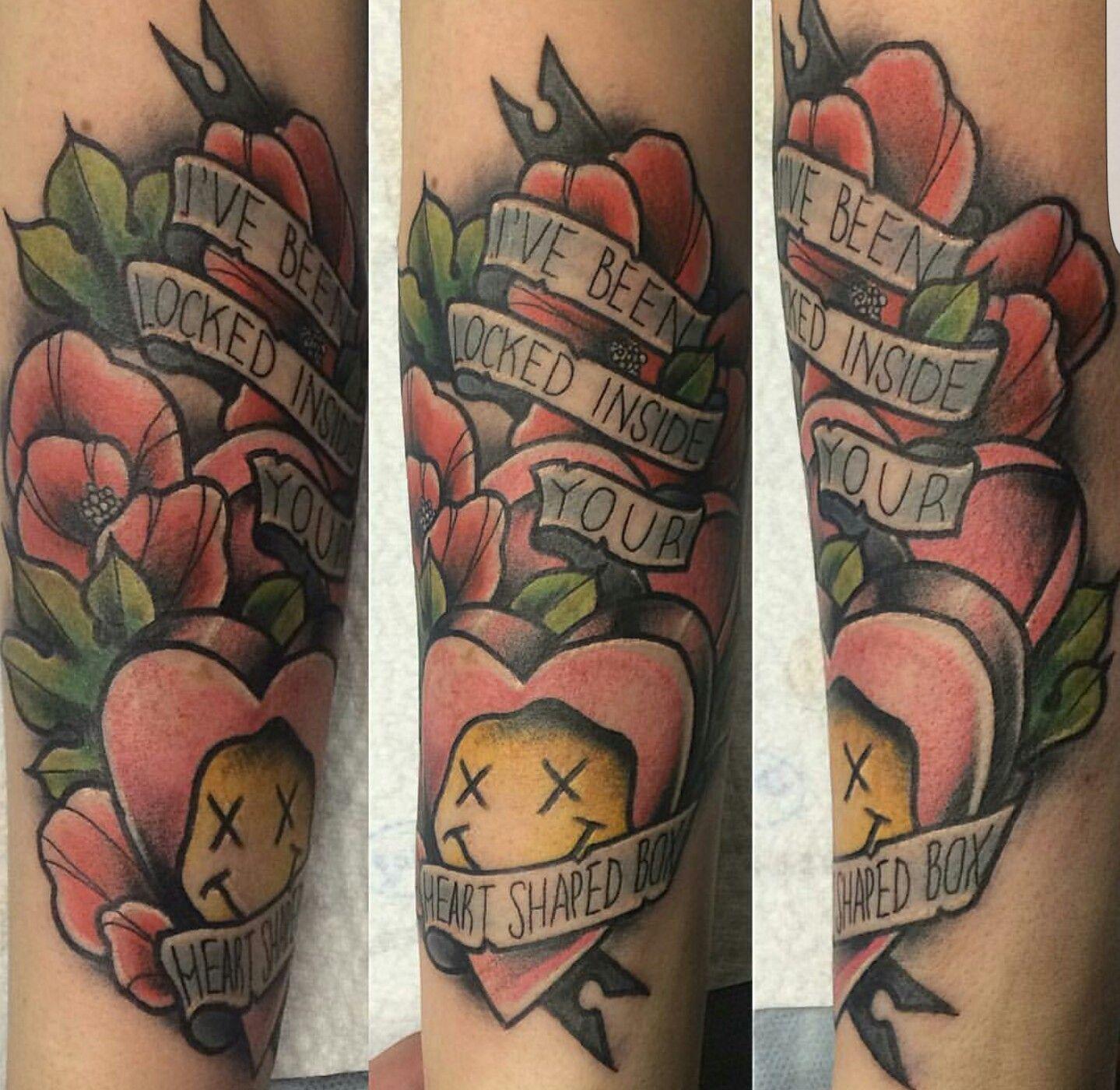 Nirvana tattoo | Nirvana tattoo, Band tattoo