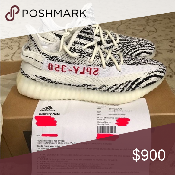 Adidas Yeezy Boost 350 V2 Zebra Condition Deadstock Will Take Best Offer Sizes 8 13 New With Box All P Zebra Shoes Adidas Yeezy Boost Adidas Yeezy Boost 350 V2
