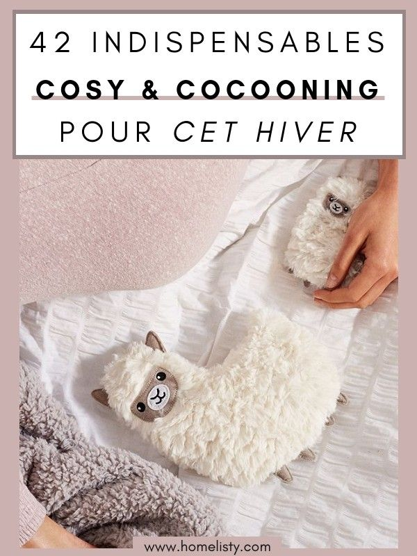 39 Objets Cocooning Douillets Pour Passer Un Hiver Cosy Bien Au Chaud Hiver Deco Hiver Douillette