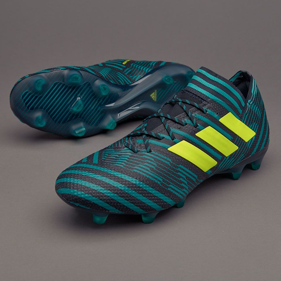 Sepatu Bola Adidas Nemeziz 17 1 Fg Legend Ink Solar Yellow Energy