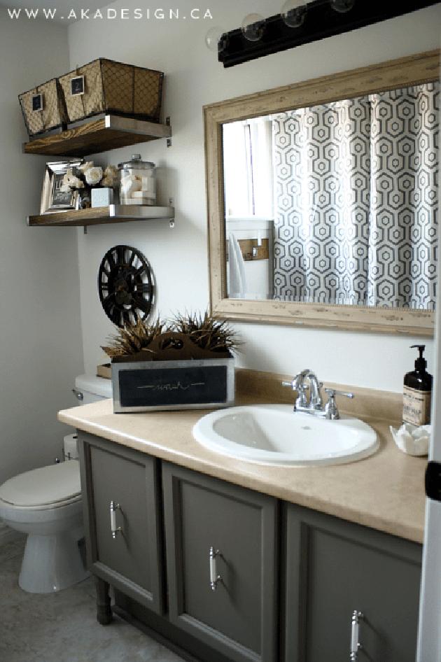 Baños vintage. Fotos, ideas y muebles para decorar un baño ...