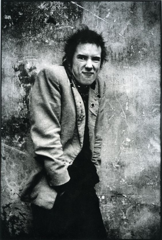 Jonny Rotten_Sex Pistols, this man changed everything music wise... Knighthood anyone?