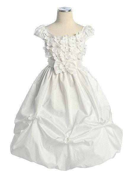 Vestido Daminha, tecido tafetá | vestidos daminhas | Pinterest