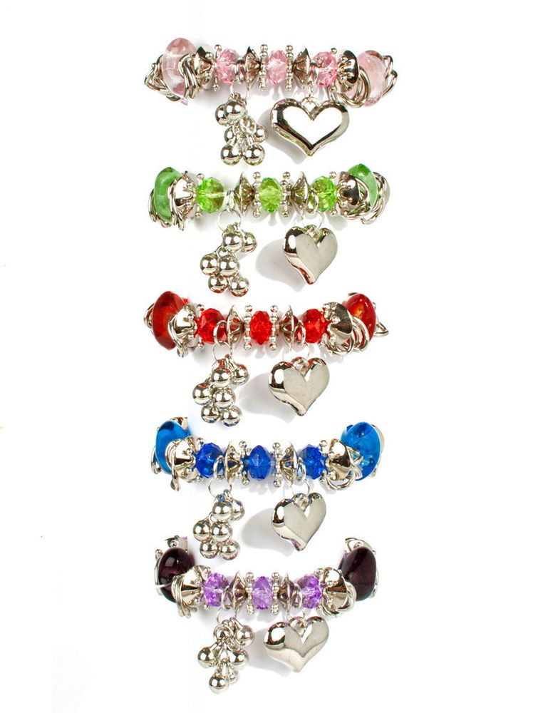 265501Armband,Schmuck,Kette,weiß,grün,rot,blau,pink,