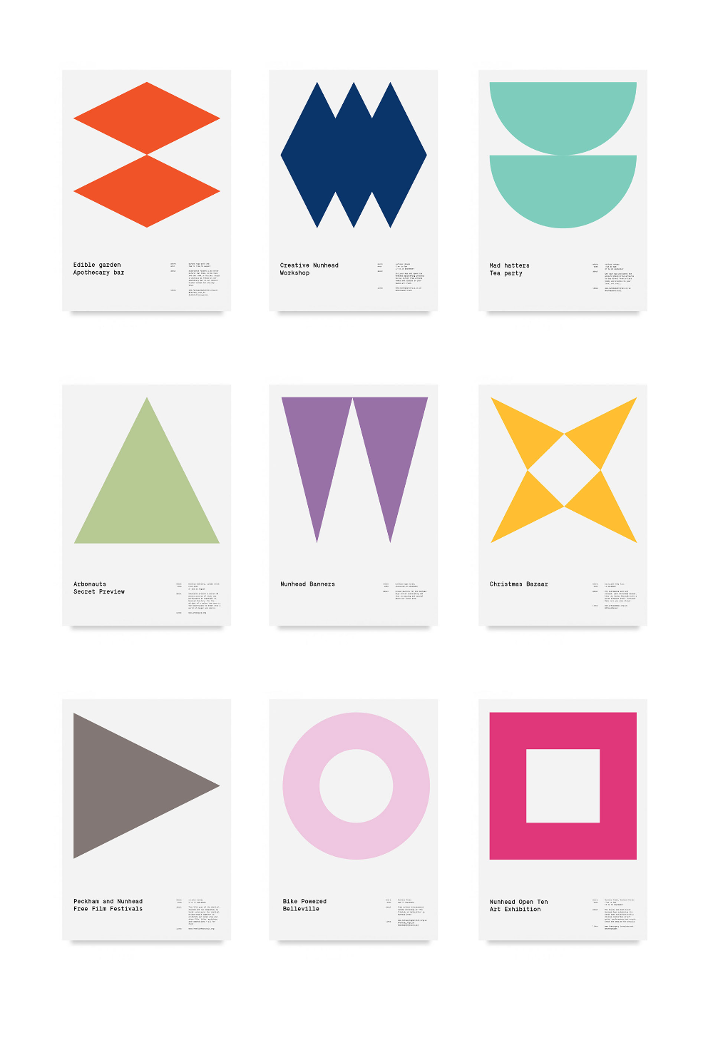 Behance Graphic Design Geometric Shapes Design Geometric Graphic Workbook Design
