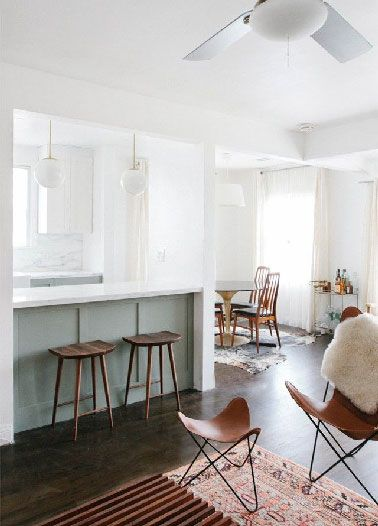 De Bonnes Idées Déco Pour Une Cuisine Ouverte - Bar pour cuisine americaine pour idees de deco de cuisine