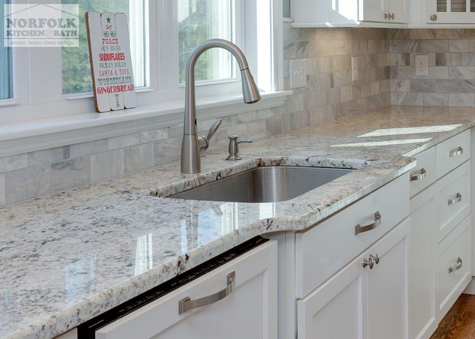 ops: Granite Color: Galaxy White The kitchen design [...] | Home ...