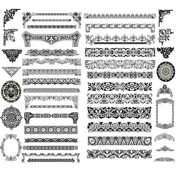 Instant download vintage calligraphy clip art design style elements instant download vintage calligraphy clip art design style elements divider wedding invitation embellishments flourishes swirls and free vector stopboris Choice Image