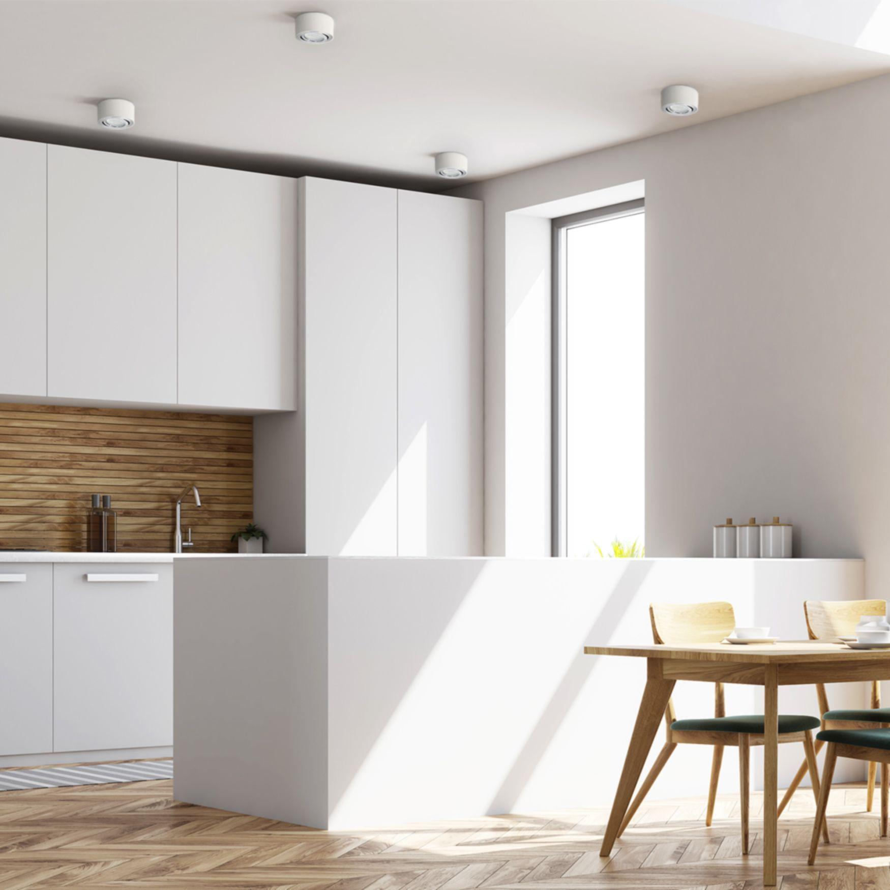 Celi 1 Moderne Deckenleuchte Fur Die Kuche In 2020 Led Deckenspots Haus Deko Beleuchtung Wohnzimmer Decke
