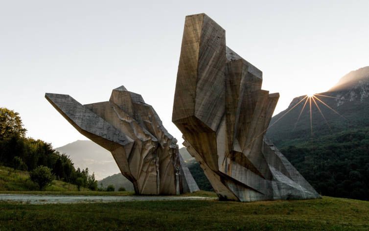 Tjentište War Memorial • Peter Franc