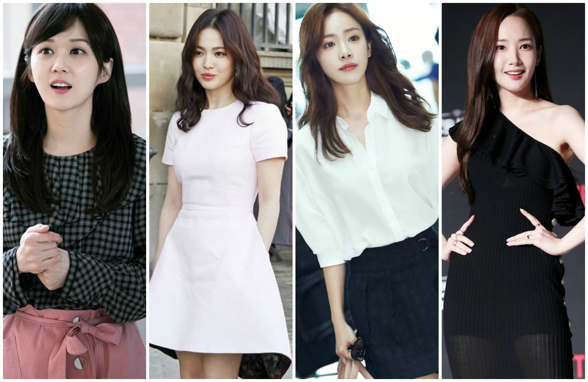 [K-Star]: Young fashion style of famous actresses in Korea