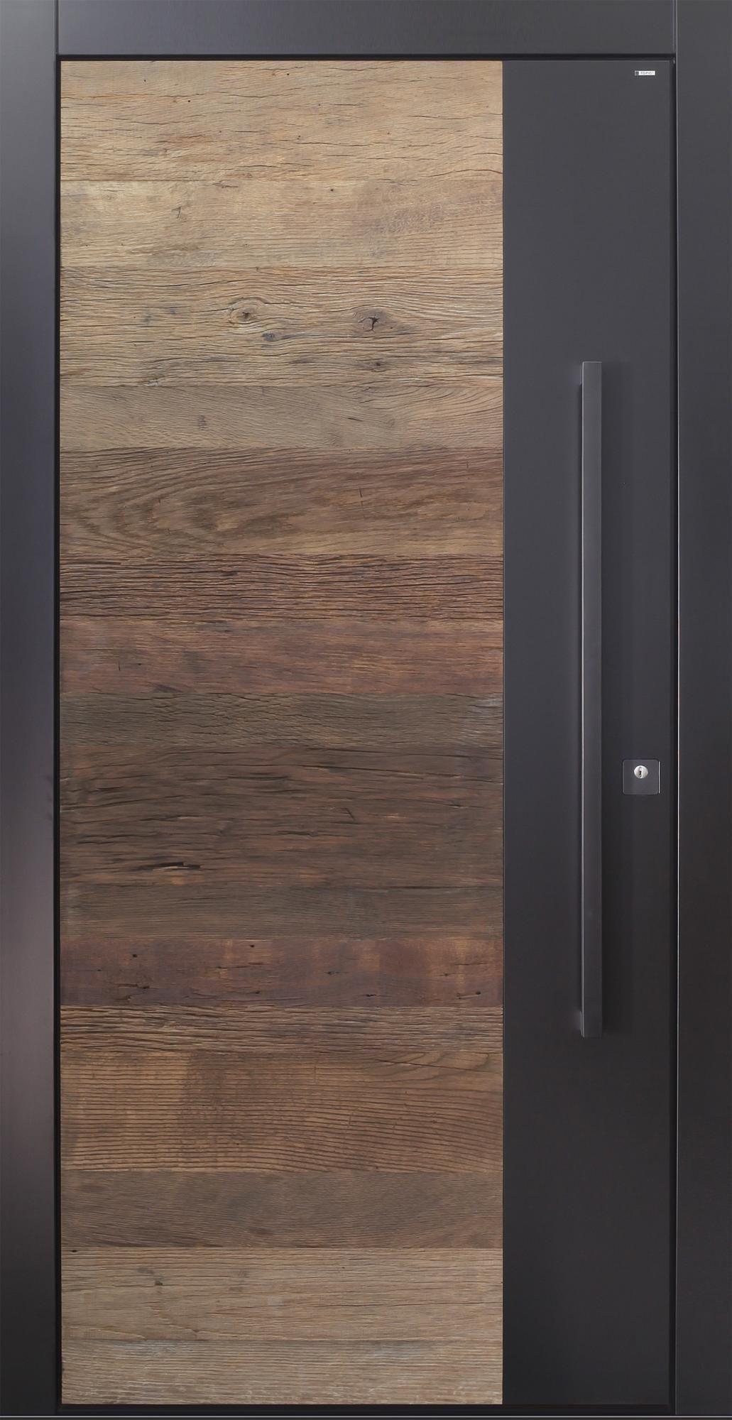 haust r modern anthrazit holz altholz eiche ber 500. Black Bedroom Furniture Sets. Home Design Ideas