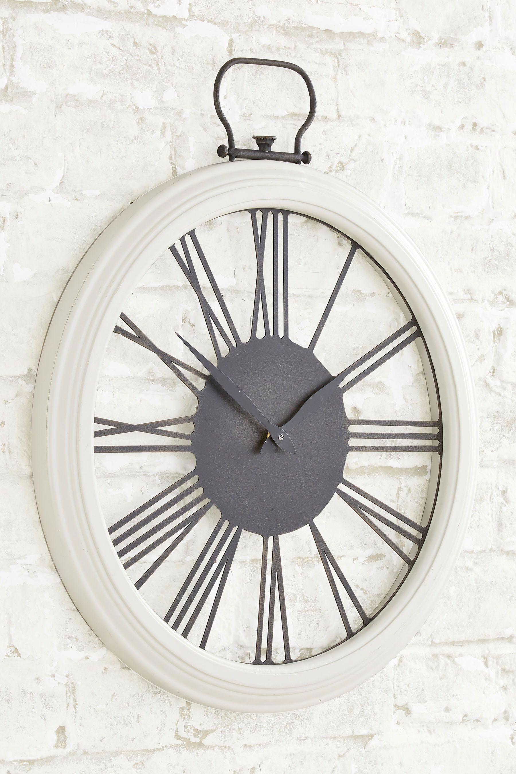 Next Wooden Wall Clock Cream Wall Clock Wall Clock Wooden Bedroom Wall Clock