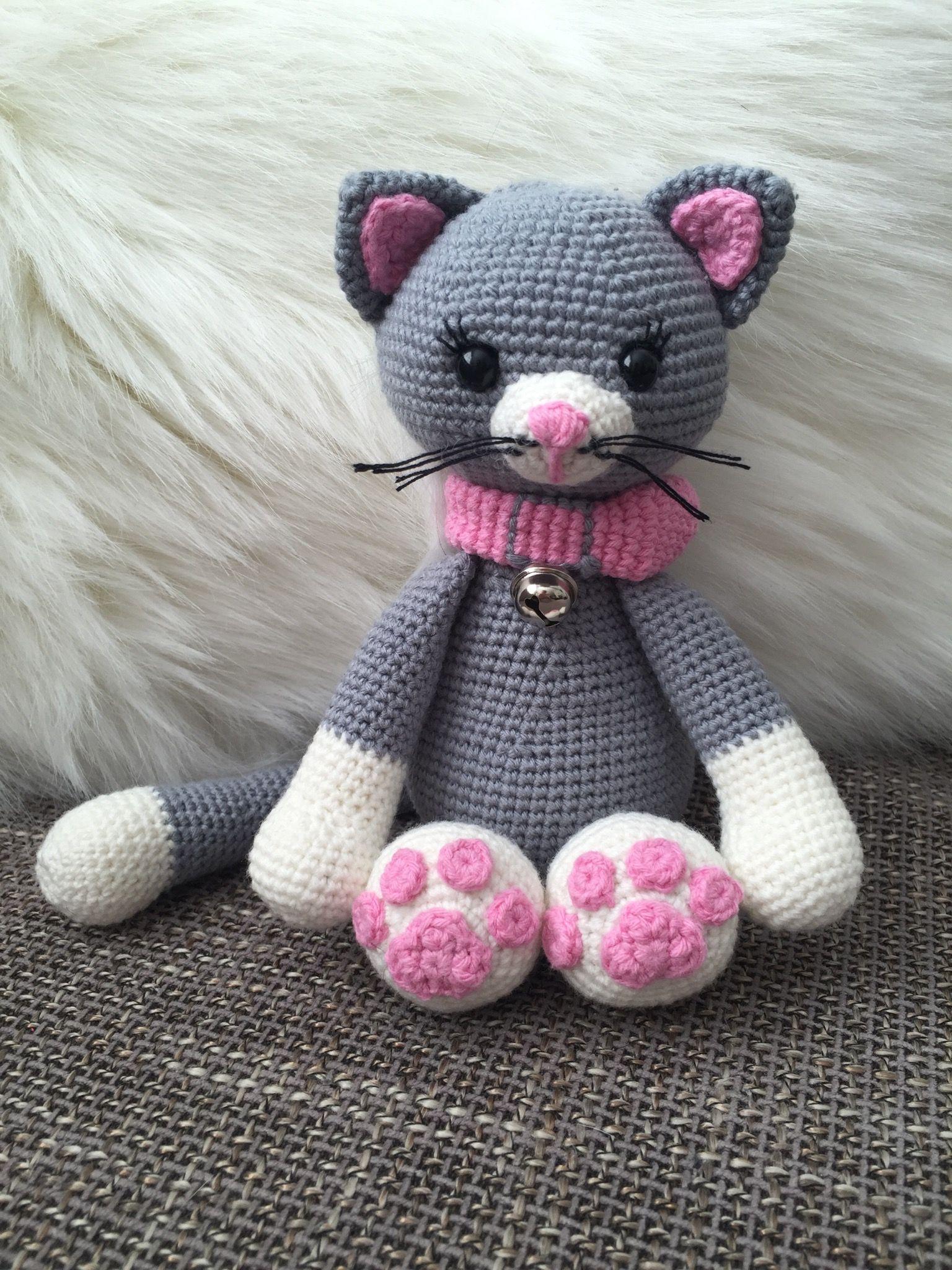 Crochet Haken Amigurumi Poesje Poes Kat Cat Crochet Pinterest