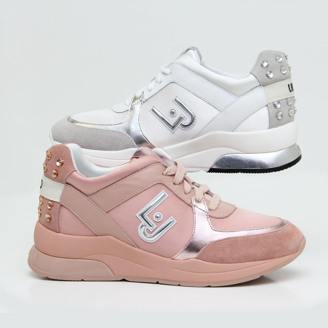 diversificado en envases calidad primero Precio pagable Zapatillas Liu Jo modernas y femeninas ¿blancas o rosas? #zacaris ...