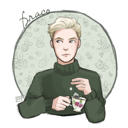Harry Potter + Tea (feel free to use as icons) | Harry potter characters,  Draco malfoy fanart, Harry potter friends