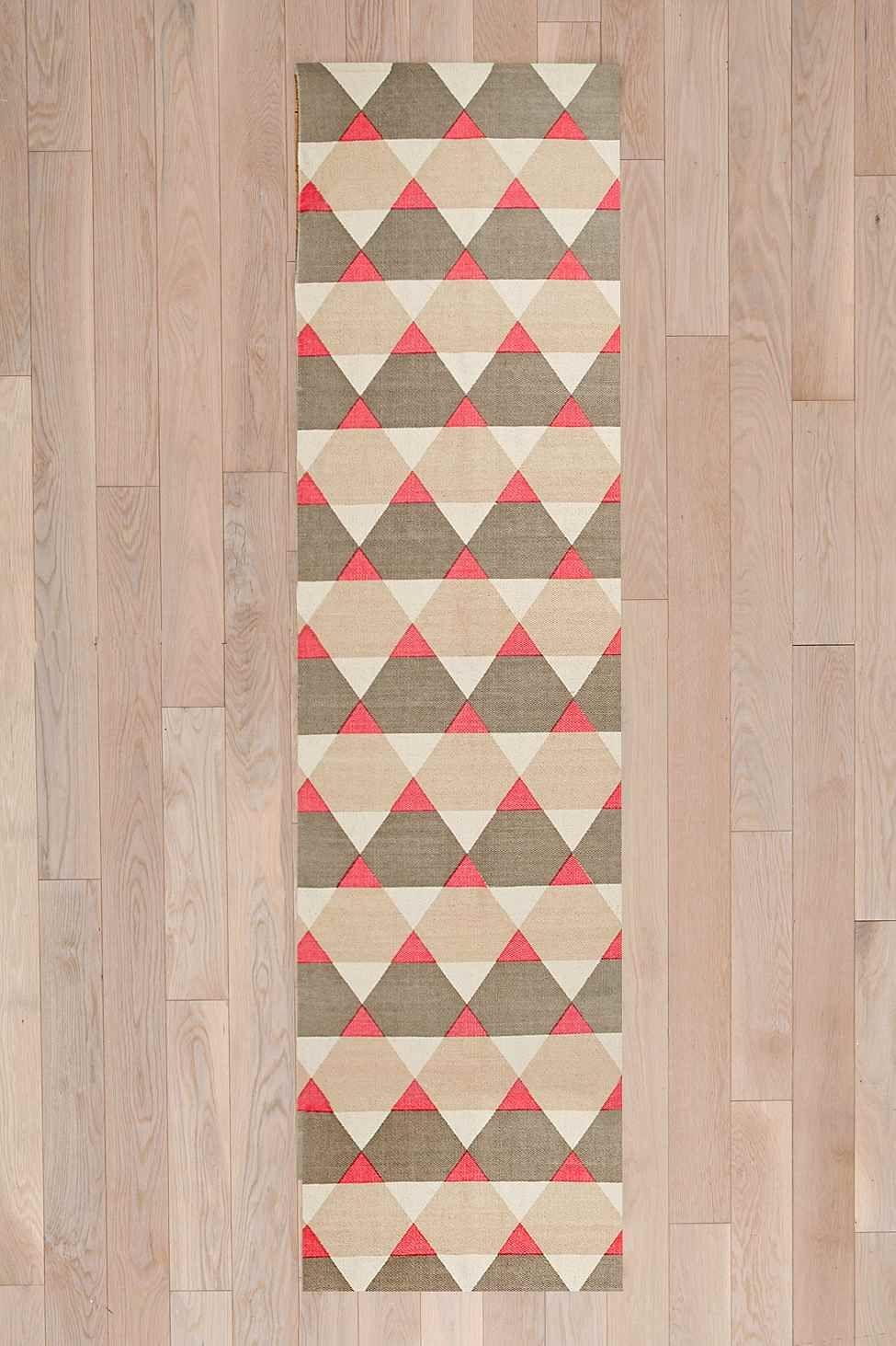Teppich mit geometrischem Muster, 2 x 8 Fuß  Urban