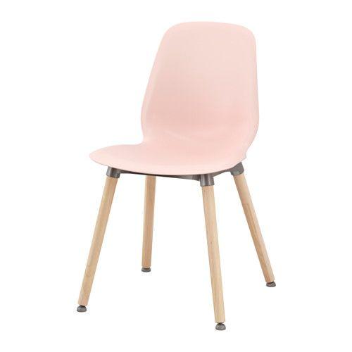 Leifarne Chair Pink Ernfrid Birch Ikea Lamparas De Pared