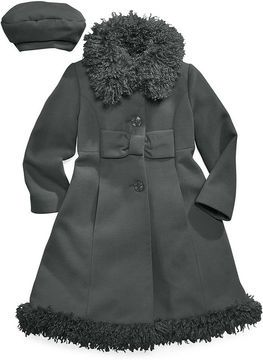 d3a802ade Macy's S. Rothschild Kids Coat, Little Girls or Toddler Girls Faux ...