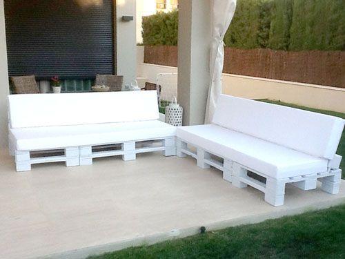 pallet sofas | Pallet things | Pinterest | Garten ideen ...