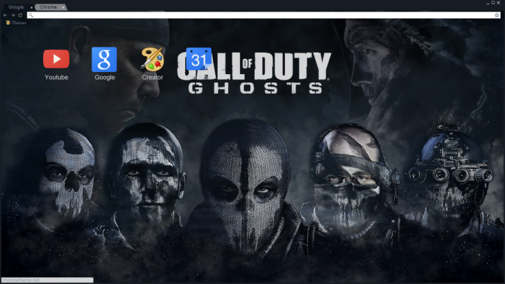 Call Of Duty Chrome Theme Ghosts Best Call Of Duty Chrome Themes