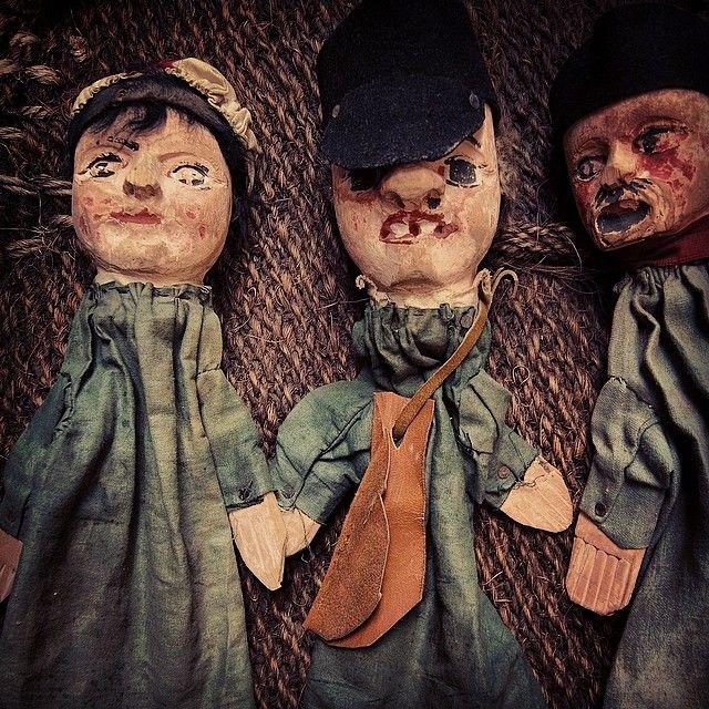 French vintage dolls Guiniol #frenchvintage #antiquecloth #antiquedoll