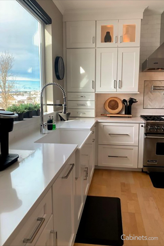 36+ White shaker upper cabinets type